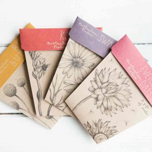 Australian Native Flower Seed Gift Set by Sow 'n Sow