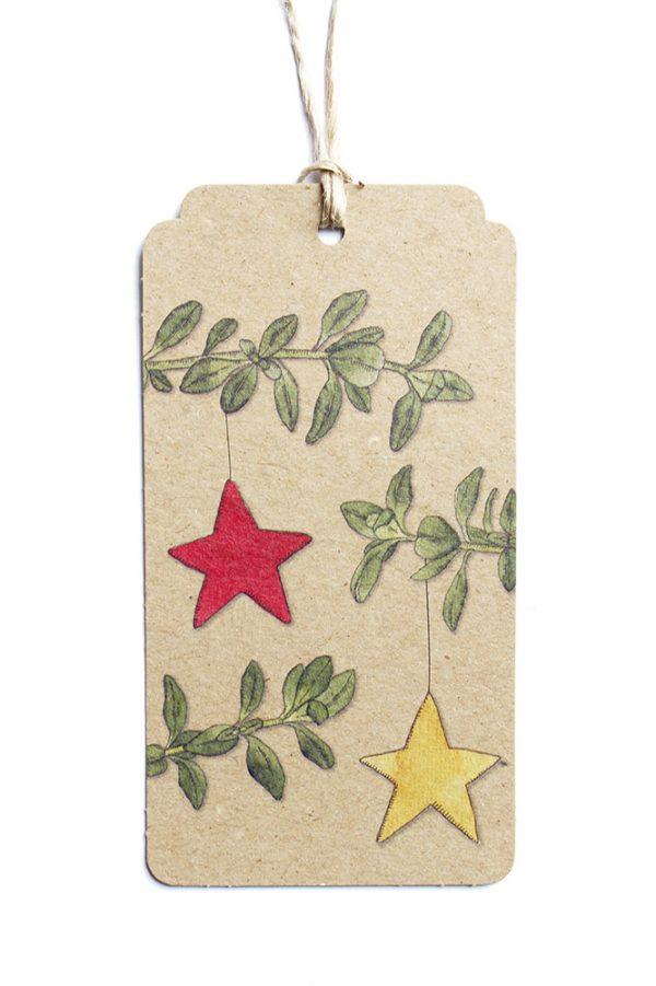 Christmas Thyme Gift Tag