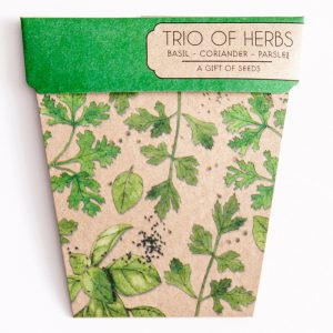 Trio of Herb Gift of Seeds