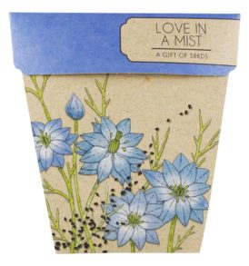 Love In A Mist Gift of Seeds Packet Front