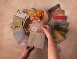 A gift of seeds subscription to send to a loved one in lockdown