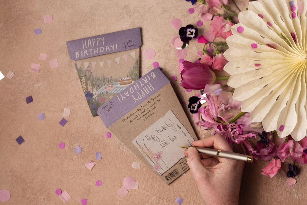 Celebrate a loved one's birthday with a Gift of Seeds