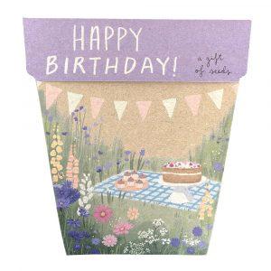 Happy Birthday Gift of Seeds