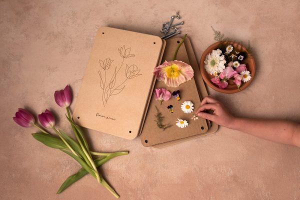 New giant sized Tulip Flower Press