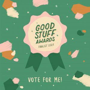 Vote for us! Frankie Magazine Good Stuff Awards 2021