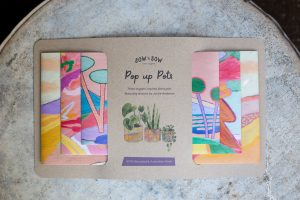 Sow 'n Sow Pop Up Pots. Artist and brand collaboration.
